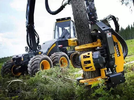 森林伐木机